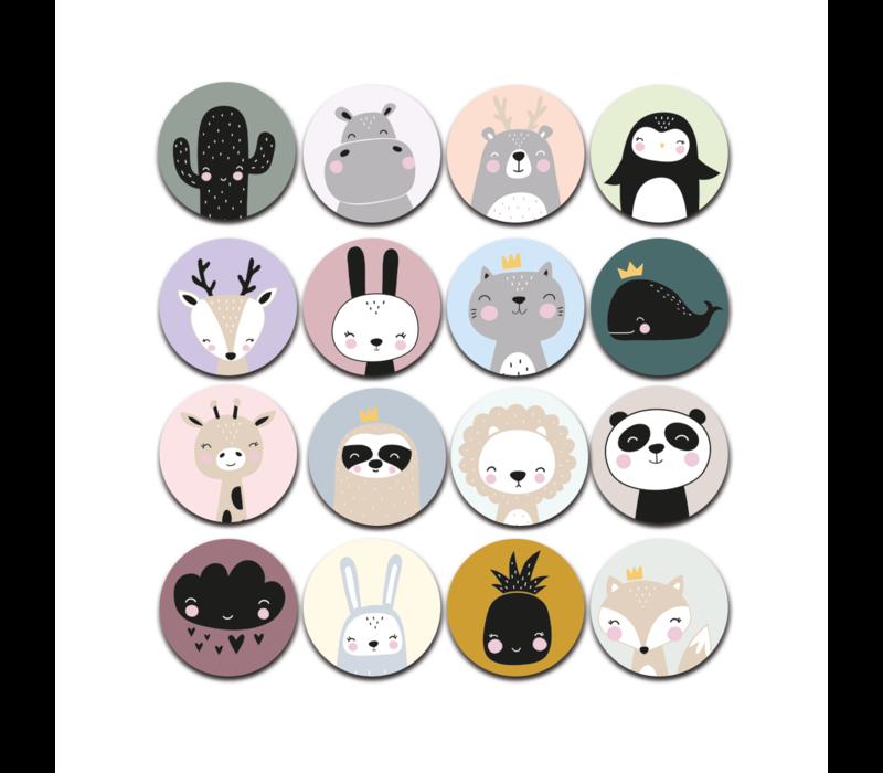Memoryspel animals