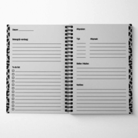 Planner things to do leopard