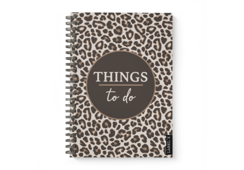 Label2X Planner things to do leopard