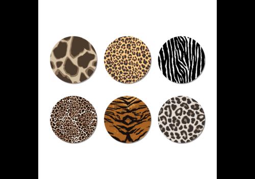 Label2X Onderzetters safari