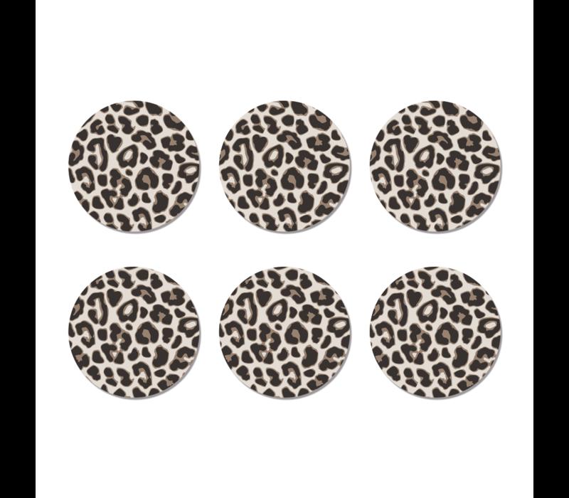 Onderzetters leopard