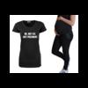 BrandLux ZWANGERSCHAPSSHIRT   NO NOT FAT, JUST PREGNANT