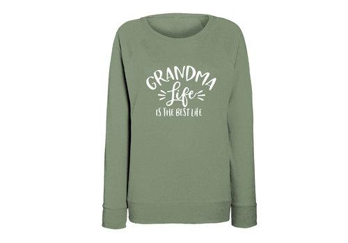 BrandLux Limited sweater | Grandma life | Olive