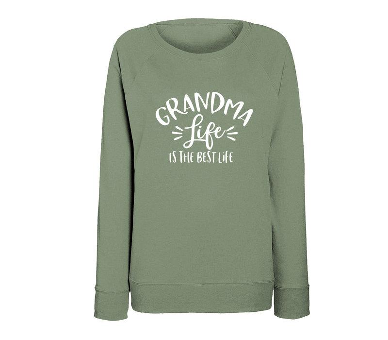 Limited sweater | Grandma life | Olive