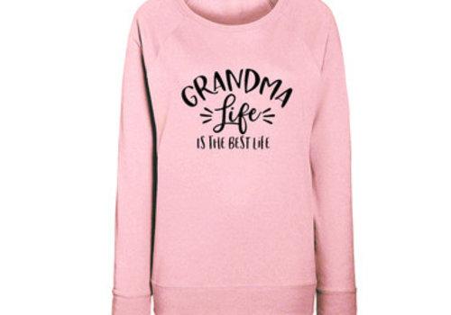 BrandLux Limited sweater | Grandma life | Pink