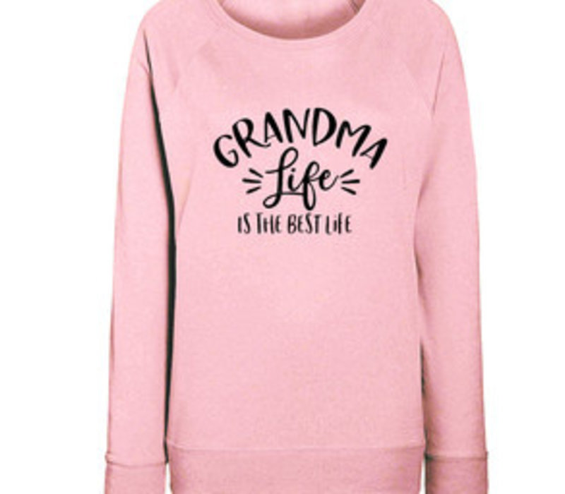 Limited sweater | Grandma life | Pink
