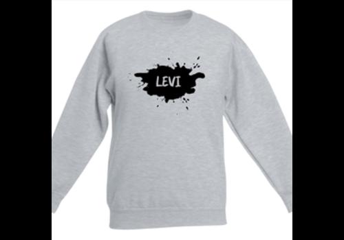 BrandLux Sweater kind | Splash naam