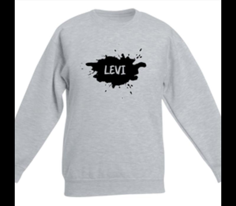 Sweater kind   Splash naam