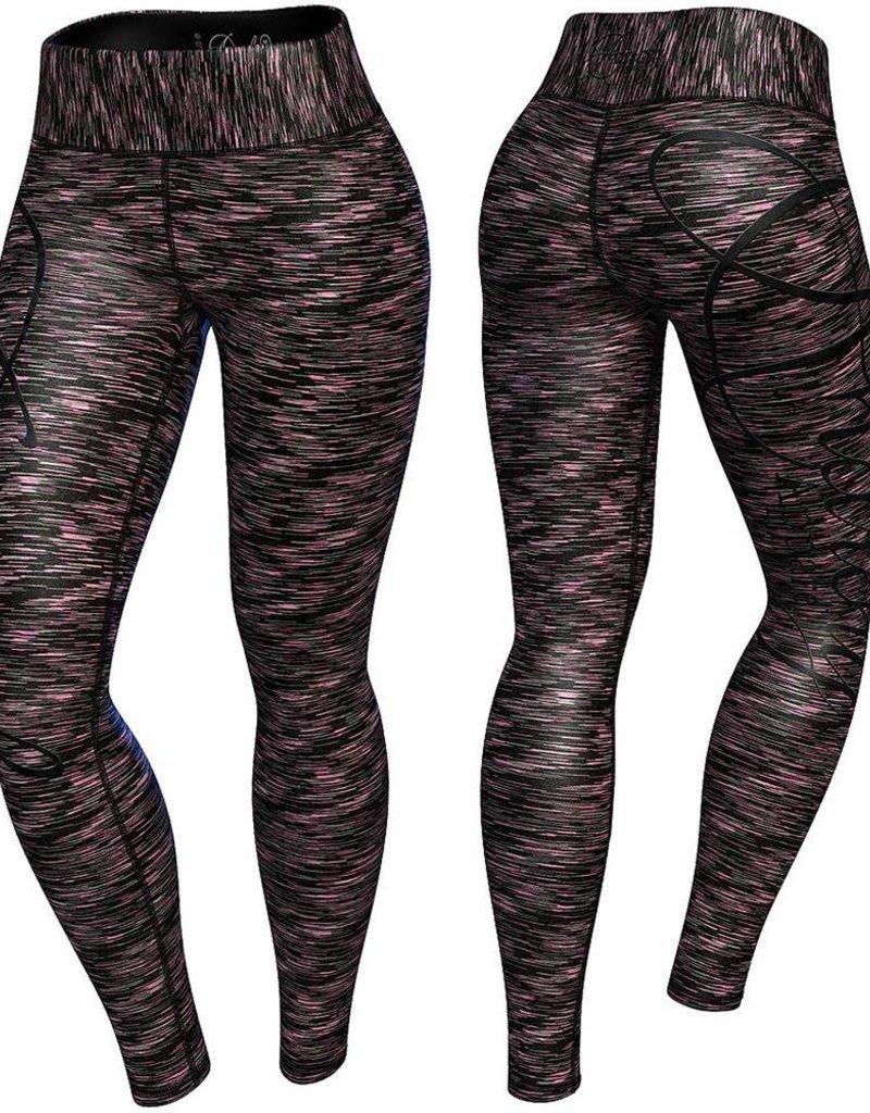 Anarchy Apparel Anarchy Apparel Legging Cushy Black Pink