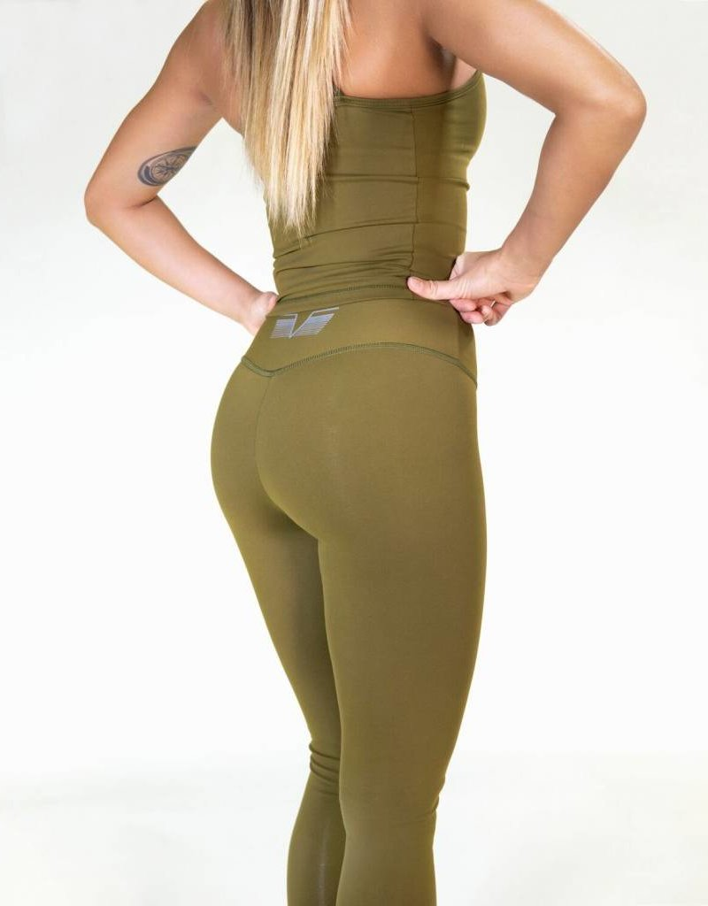 Gavelo Gavelo legging POP Army Green