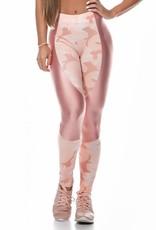 Let's Gym Let's Gym Legging Camo Pink