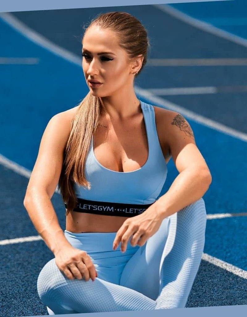 Let's Gym Let's Gym top Push-up Blue