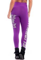 Superhot Superhot Legging Make Your Mark Purple
