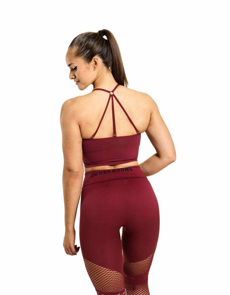 Better Bodies Better Bodies Bra Astoria Seamless Sangria
