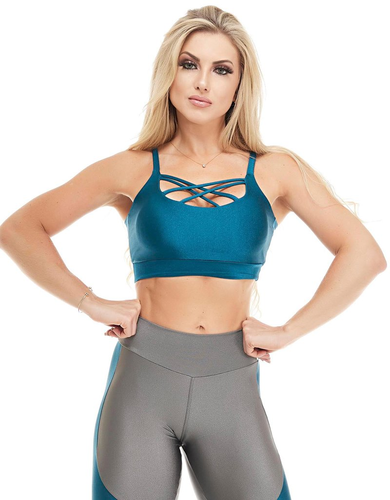 Let's Gym Let's Gym Top Colors Green