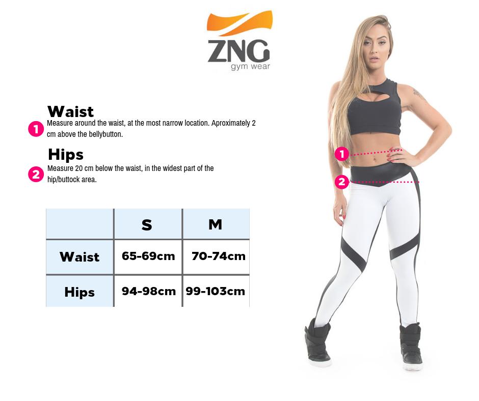 Maat tabel van ZNG