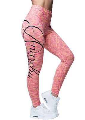Anarchy Apparel Anarchy Apparel Legging Cushy Pink Yellow