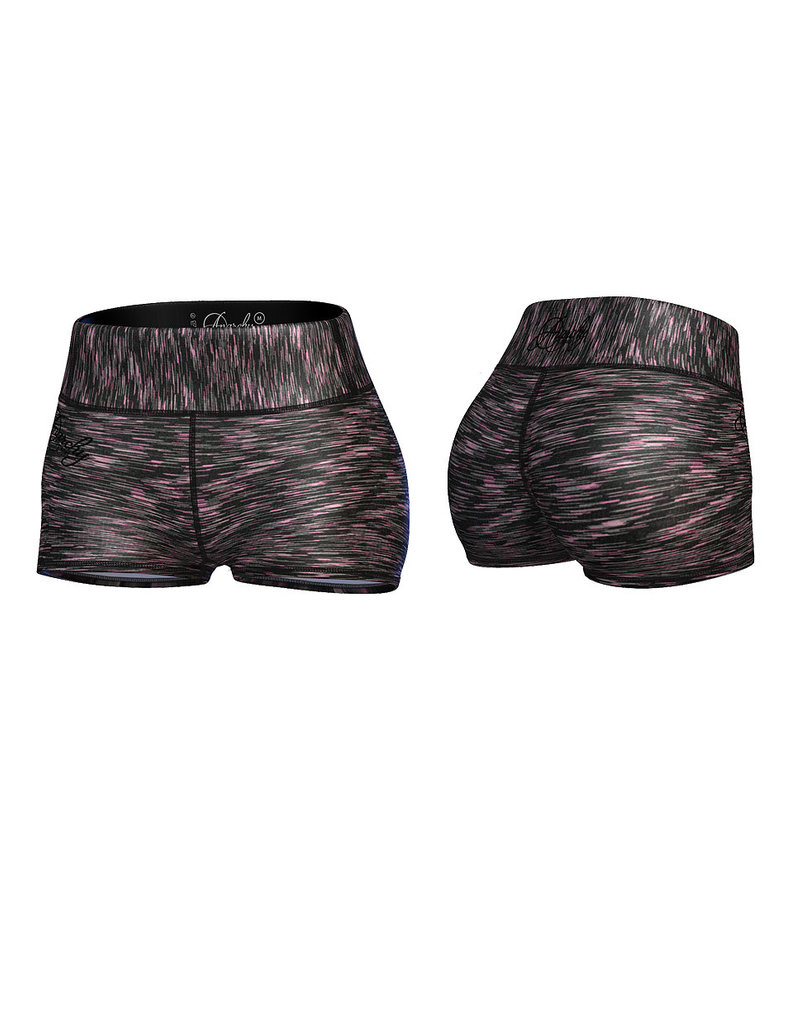 Anarchy Apparel Anarchy Apparel Short Cushy Black Pink
