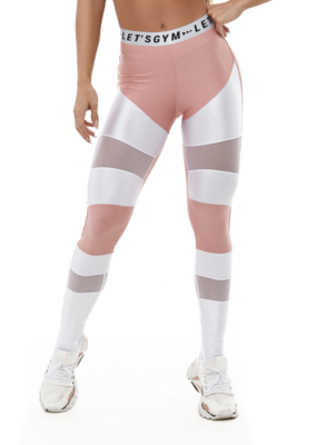 Let's Gym Let's Gym Legging Crush Pink
