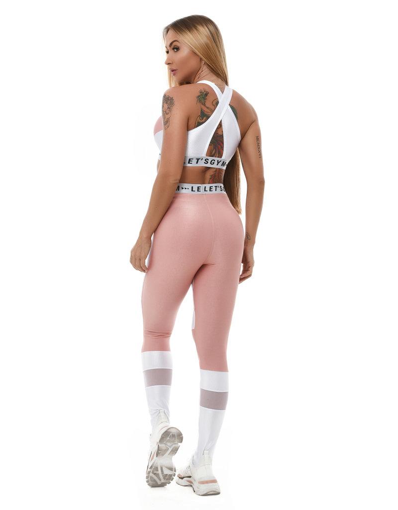 Let's Gym Let's Gym Legging Crush Pink