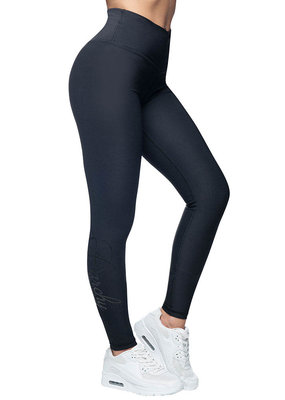 Anarchy Apparel Anarchy Apparel Compression Legging Stealth Black