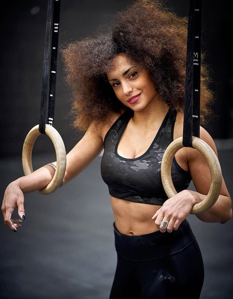 Rep In Peace Rep In Peace Sports Bra Black Panther
