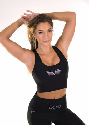 Gavelo Gavelo Sports Bra Plain Black (Second Best)