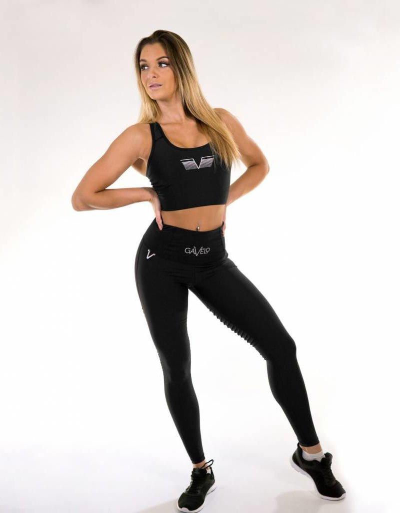 Gavelo Gavelo Sports Bra Plain Black (Second Best)