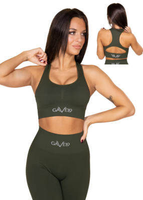 Gavelo Gavelo Seamless Bra Booster Forest Green
