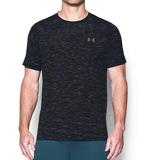 UA SEAMLESS SS Downtown Green Black