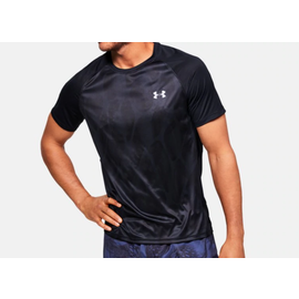 Under Armour Under Armour ISO-CHILL printed SS BLK