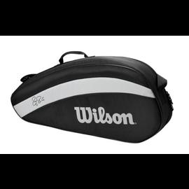 Wilson Wilson 3PK black tennis tas
