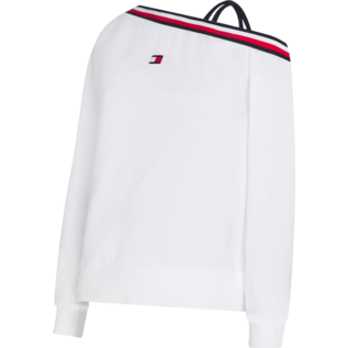 Tommy Sport Tommy Sport One Shoulder Crew