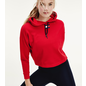 Tommy Sport Tommy Sport Cropped Hoodie Flag