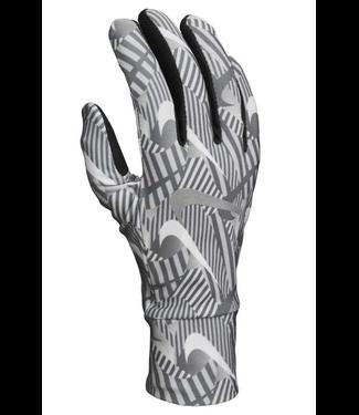Nike Nike Women's printed running gloves, dames hardloop handschoen