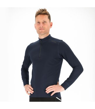 Fusion Fusion shirt met lange mouw en rits Heren