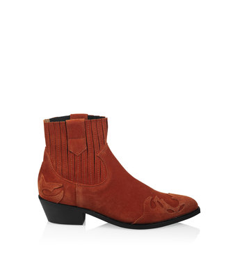 DWRS Label Boots Austin Flame rust