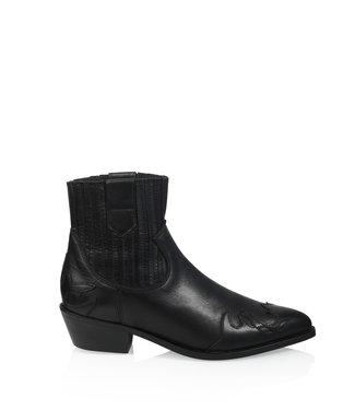 DWRS Label Boots Austin Flame zwart