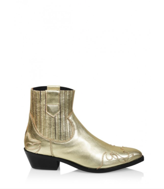 DWRS Label Boots Austin Flame champagne