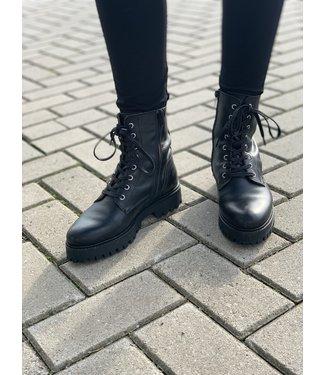 DWRS Label Boots Stanley zwart