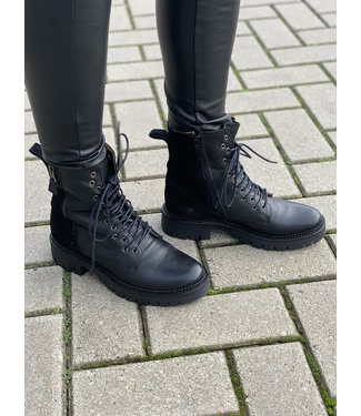 DWRS Label Boots Bradley zwart
