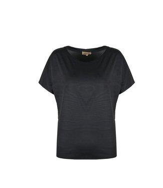 T-shirt 20ZHN05 zwart
