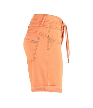 Red Button Short Relax oranje