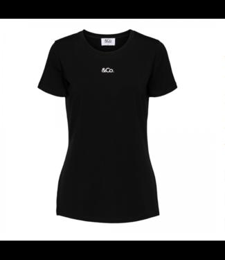 &Co Women T-shirt Lois zwart
