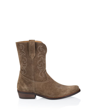 DWRS Label Boots Toscane brown
