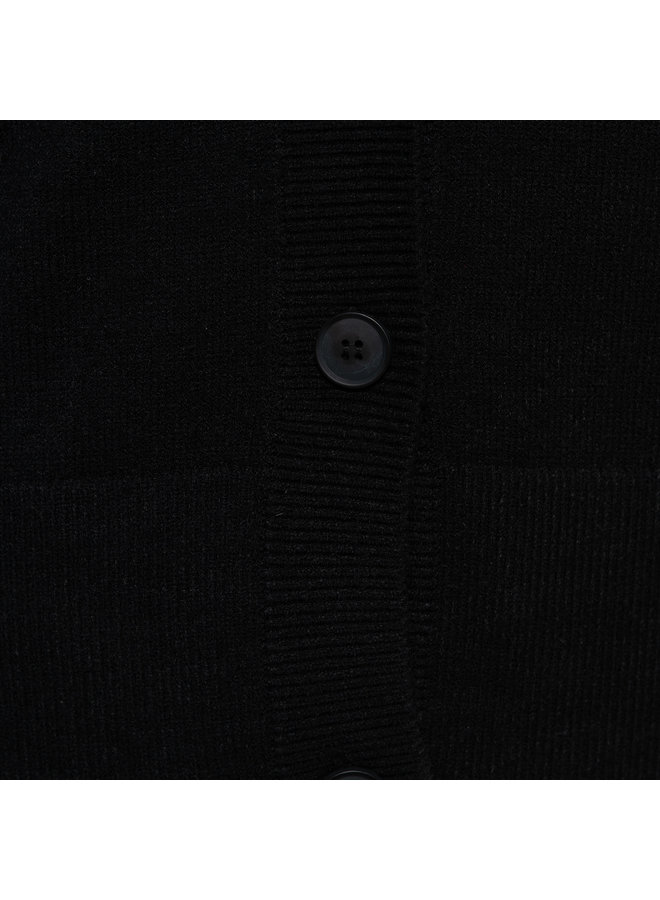 Vest Barbara zwart