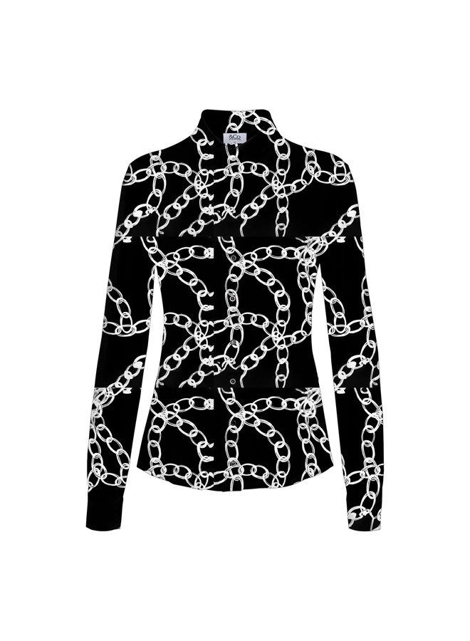 Blouse Lotte jersey chain
