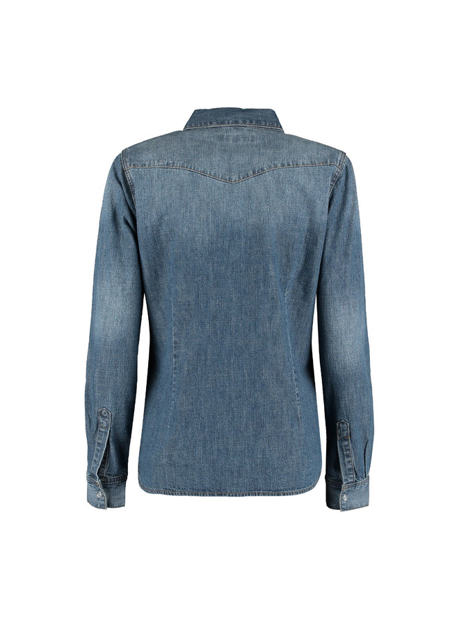 Blouse Boby blue denim
