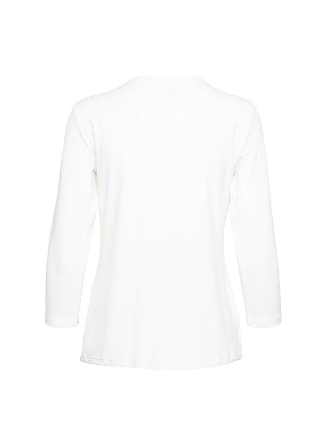 Top Leine off white