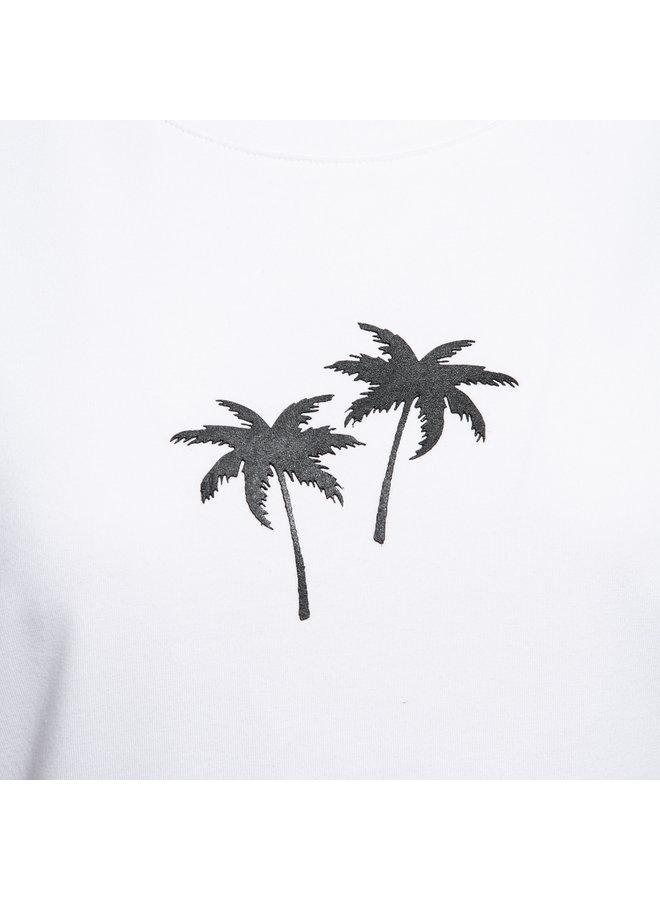 T-shirt Palm wit
